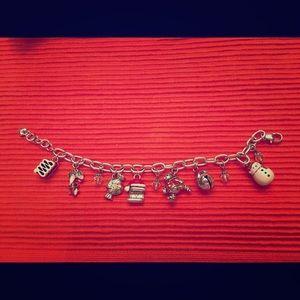 Brighton Silver Plater Christmas Bracelet w/Charms